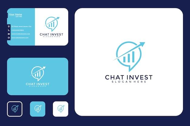 Дизайн логотипа местоположения загрузки, визитная карточка и визитная карточка