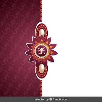 Bordeaux rakhi background