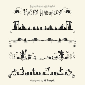 Border collection for halloween