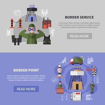 Banner della guardia di frontiera