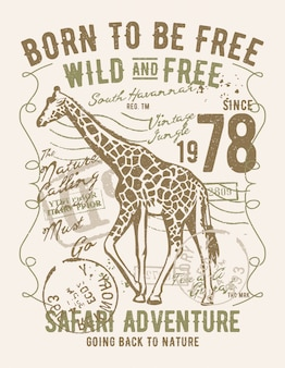 Born to be free wild and free
