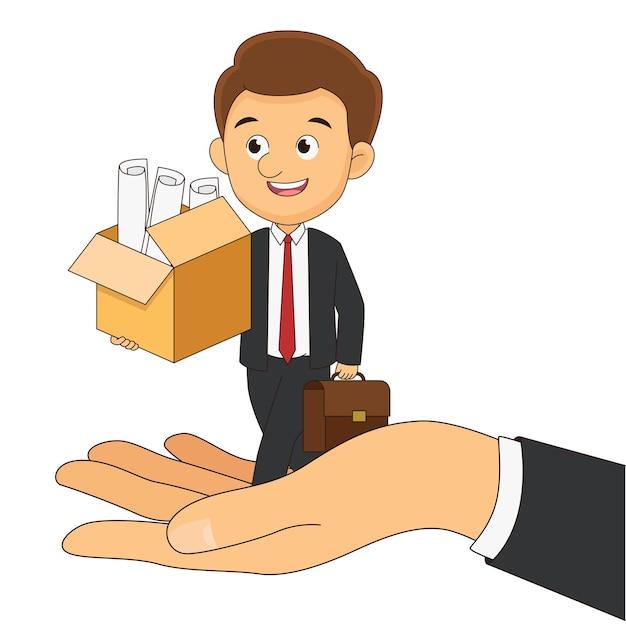 Босс предлагает новый офис сотруднику