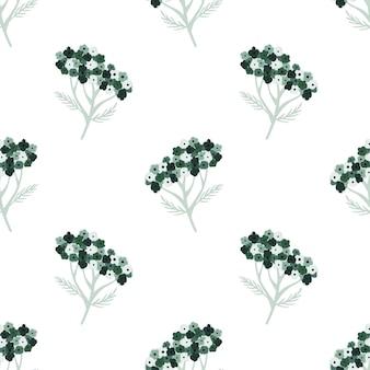 植物のシームレスなパターン