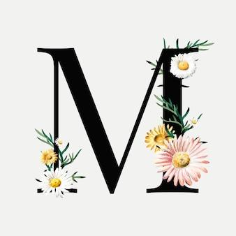 Botanical letter m