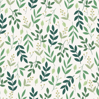 Botanical seamless pattern. floral background.
