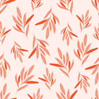 Botanical seamless pattern with green leaves . leaves and flowers wallpapers. florals background.