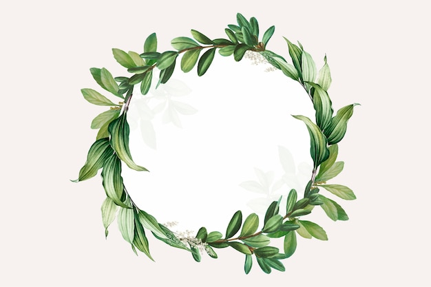 photograph relating to Printable Wreath titled Wreath Vectors, Illustrations or photos and PSD documents Cost-free Obtain
