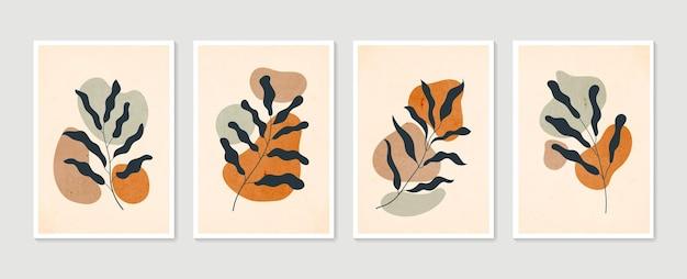 Иллюстрация ботанического искусства стены