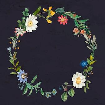 植物の花輪