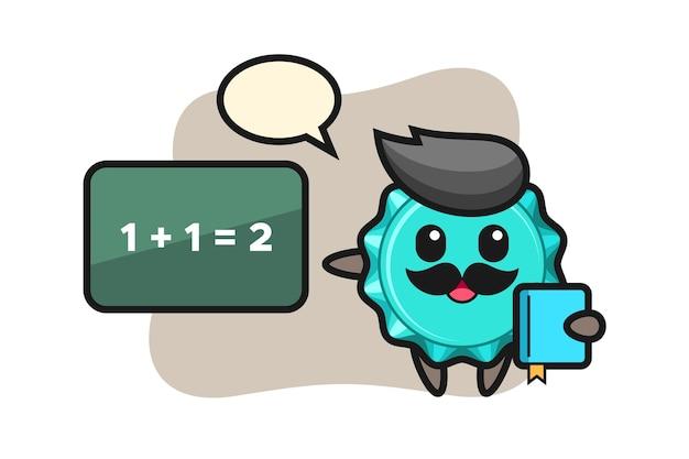 教師としてのボトルキャップのキャラクター