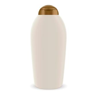 Bottle for cosmetic shampoo. shower gel mock up