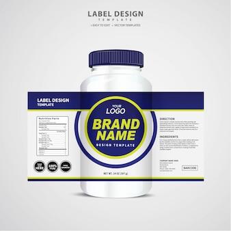 Bottle label