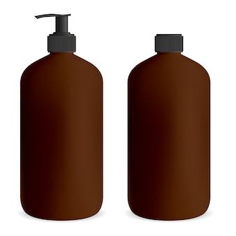 젤 또는 비누 용 병 펌프.