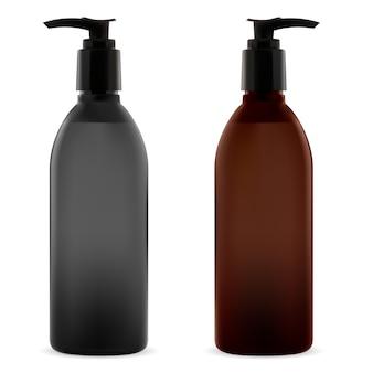 Bottle pump illustration