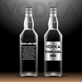 Bottle for vodka