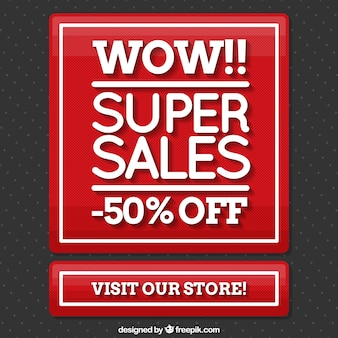 Bottom of super sales