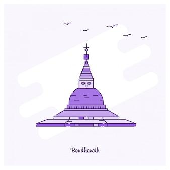 Boudhanath landmark