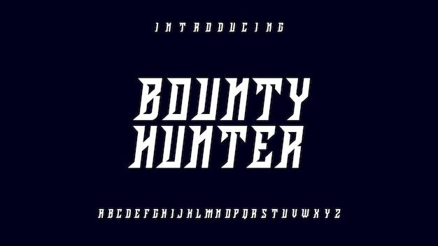 Bounty hunterフォント