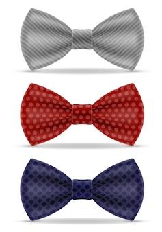 Bow tie for men a suit