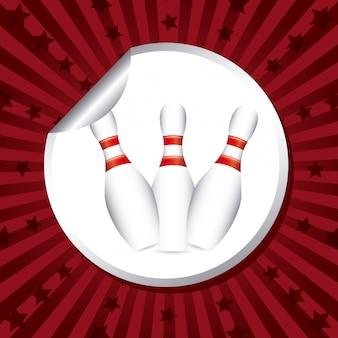 Etichetta da bowling