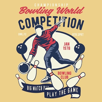 Bowling world competition