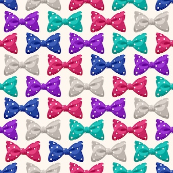Bows with dots