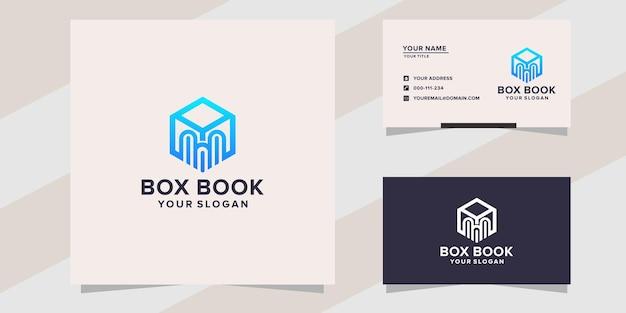 Box book logo template