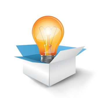 Box and bulb