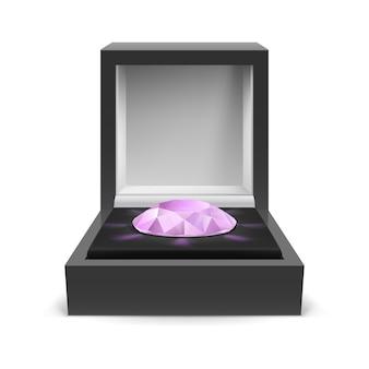 Box for diamond