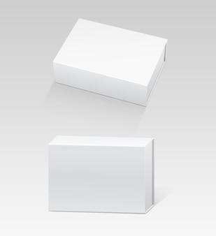 Box packaging mockups