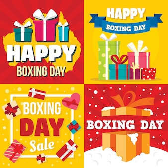 Boxing day backgrounds