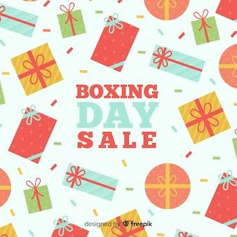 ボクシングの日フラットギフト販売の背景