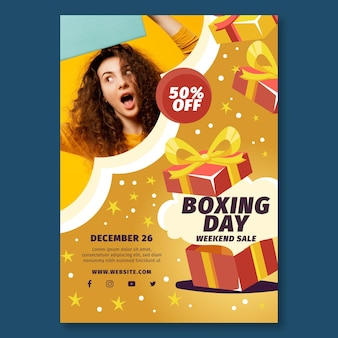 Boxing day flyer a5 vertical
