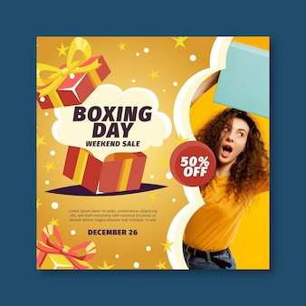 Boxing day flyer square