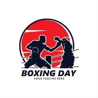 Boxing day logo design