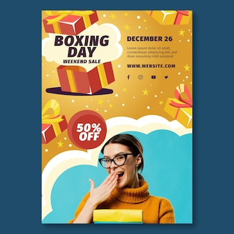 Boxing day poster a4