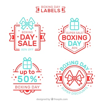 Boxing day sale badge