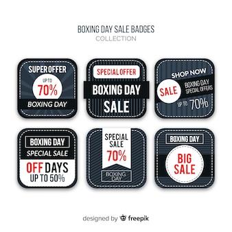 ボクシングの日の販売バッジコレクション