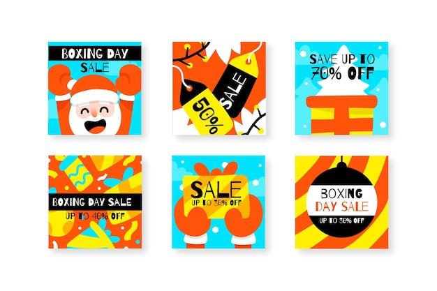 Raccolta di post di instagram di vendita di santo stefano