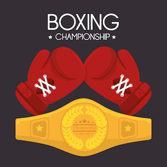 Boxing design.