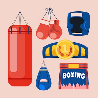 Boxing equipment tools set