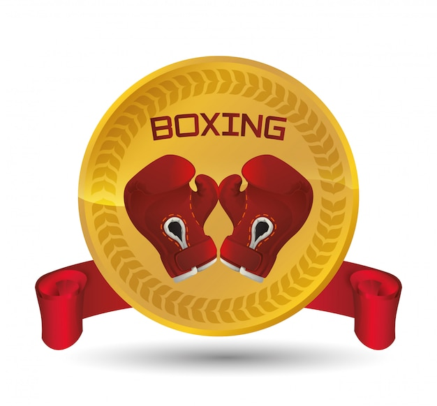Boxing icon design