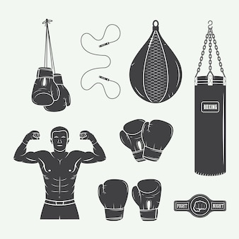 Boxing and martial arts elements