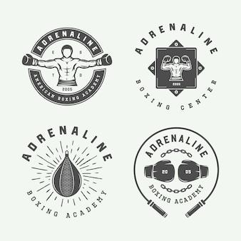 Boxing and martial arts logo