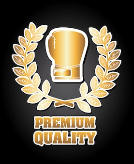 Boxing premium quality graphic design