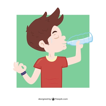 drinking water vectors, photos and psd files | free download