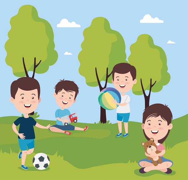 Мальчики и девочки детские мультики с игрушками