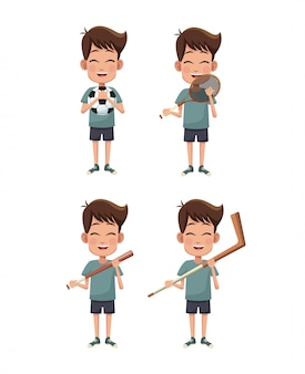 Boys and sports