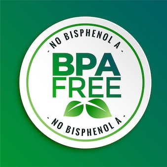 Bpa bisphenol-a and phthalates free badge seal label