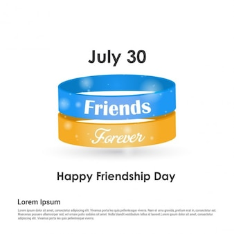 Bracelets for friendship day